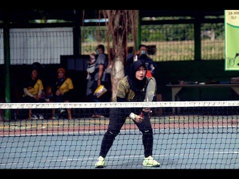 Umi Zulaikah dan AKBP Dewi Indarwati Melaju ke Semifinal Turnamen Tenis Muzukha Ceria