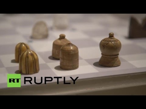 UK: Over 1,000-year-old Persian chess set on auction at Sotheby's, London
