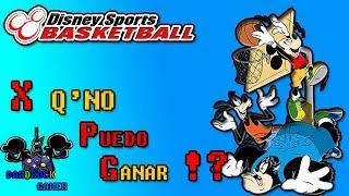 Disney Sports Basketball😱El Juego Perdido😱Y Jamas Jugado😲Gran Descubrimiento🤔