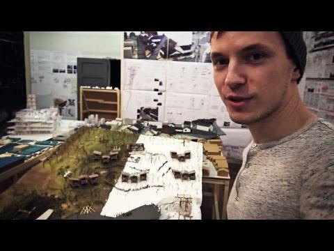 Making Architecture Models in JAPAN | Tokyo Vlog