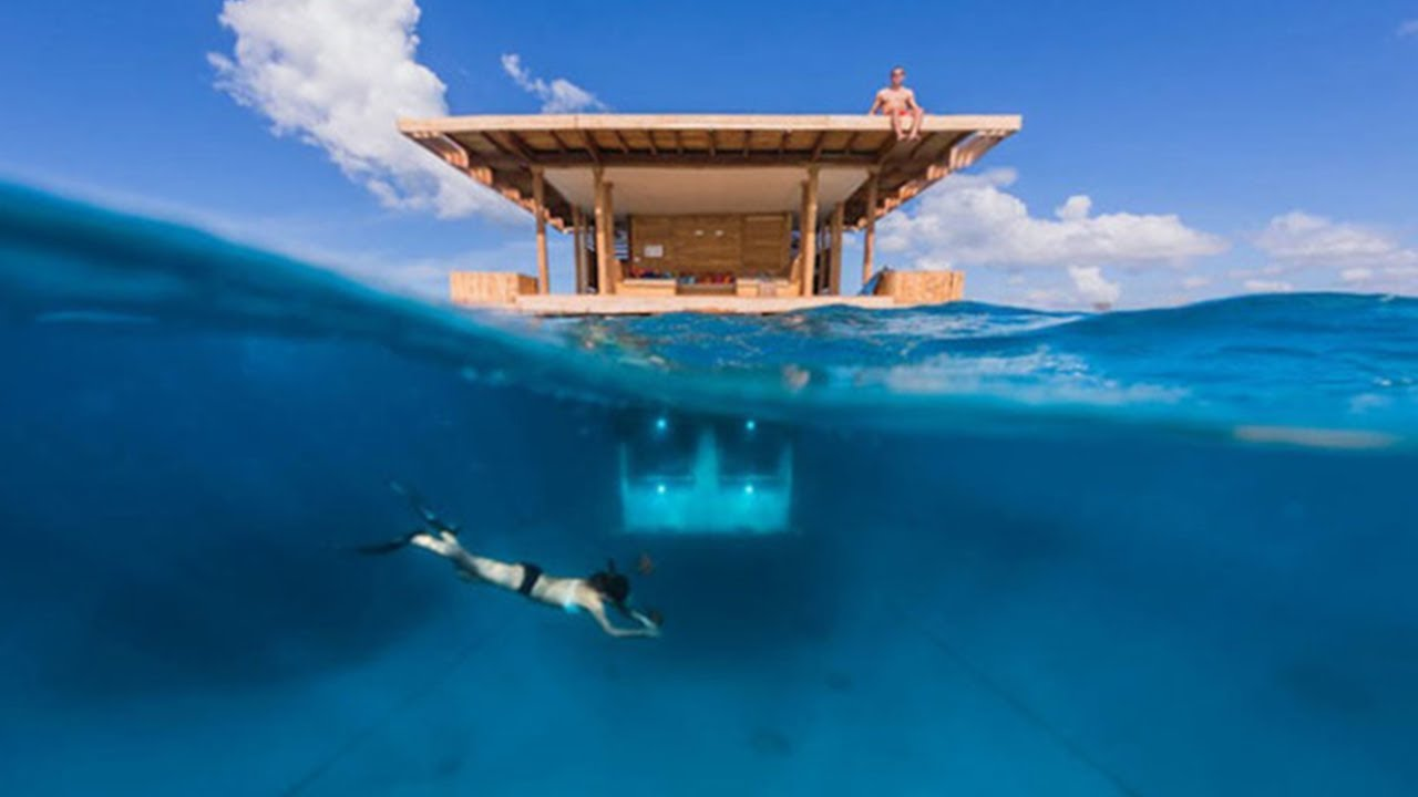 Superior Floating Hotel Part - 10: Multi Level Floating Hotel With An Underwater Room -- The Manta Resort