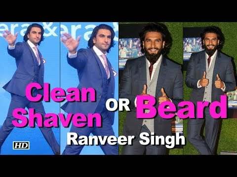 Clean Shaven OR Beard : Which Look suits on Ranveer Singh Mp3