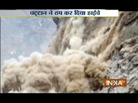 Watch Massive Landslide Caught on Camera in Uttarakhand's Joshimath