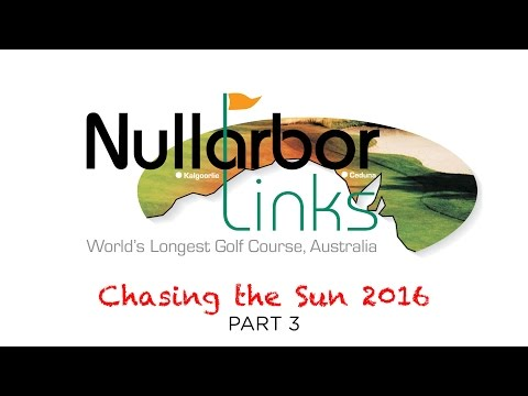 Chasing the Sun 2016 (3) The World's Longest Golf Course in Outback Australia