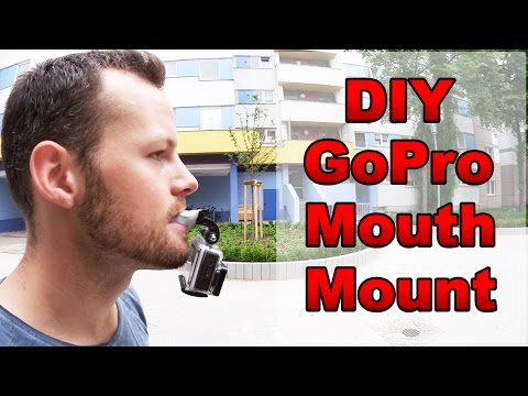 DIY GoPro Mouth Mount Tutorial - POV Parkour (deutsch)