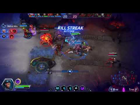 Heroes of the Storm - Team explode