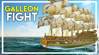 Fighting a Ship with a 150 Cannon Galleon! (Atlas Gameplay Part 39) YouTube Videos