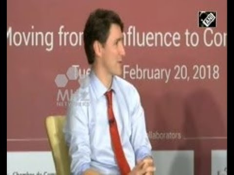 India News - Canadian Prime Minister attends Canada India Business Forum meet in Mumbai