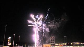 Fireworks @ the Winston Salem Dash Baseball Game (8/26/2011)