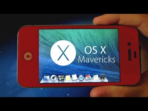 iphone os 10 how to get os x mavericks on iphone ipod touch cydia 12106