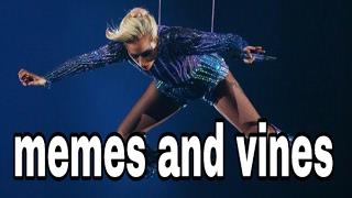Lady Gaga Superbowl 51 LI Jump Memes And Vines compilation