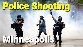Police Shooting Protesters - Minneapolis Police Station Attacked !!