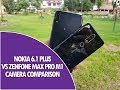 Nokia 6.1 Plus vs ASUS Zenfone Max Pro M1 Camera Comparison