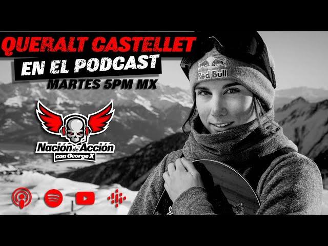 Promo Queralt Castellet en el Podcast Nación de Acción con George X Martes 9 Febrero