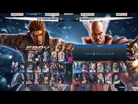 NLBC v.84 - Tekken 7 Grand Final - Spero Gin (Eddy; Paul) vs Inkognito (Bryan) [1080p/60fps]