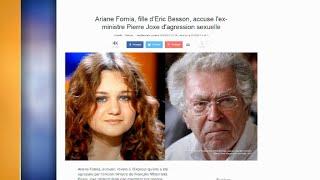 L'écrivaine Ariane Fornia accuse l'ancien ministre Pierre Joxe d'agression sexuelle
