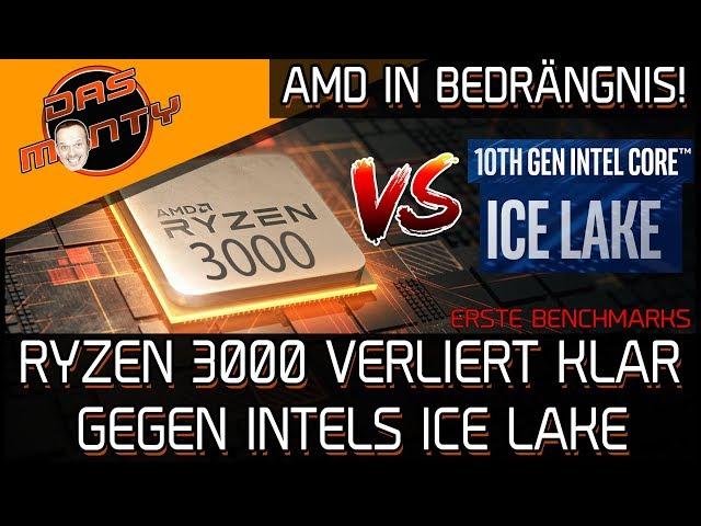 Intel IceLake vs Ryzen 3000   Erste Benchmarks und Ryzen verliert deutlich   DasMonty