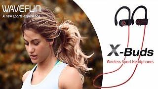 Auriculares Deportivos Wavefun X-Buds IPX7 Inalámbricos Bluetooth Unboxing