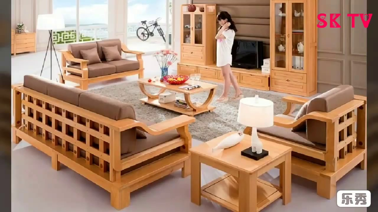 Latest Wooden Sofa Set Design For You - YouTube