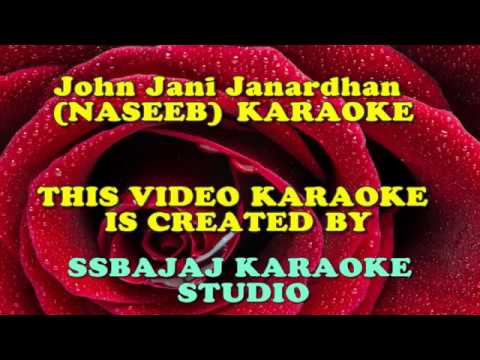 John Jani Janardhan (NASEEB) Paid_Karaoke SAMPLE