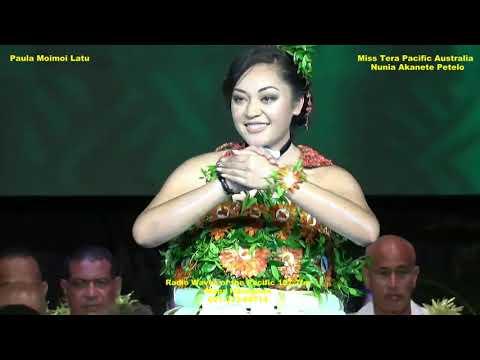 TAUOLUNGA - MISS TERA PACIFIC AUSTRALIA - NUNIA AKANETE PETELO - MISS HEILALA COMPETION 2019 thumbnail