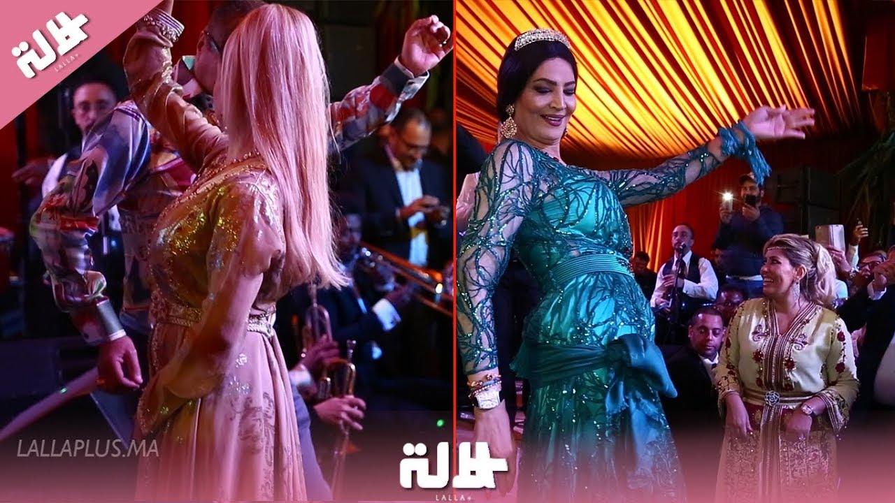 وصلات راقصة لنور وأحلام الزعيمي في حفل ختان ابن صونيا النكادي