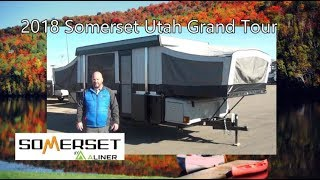 NEW 2018 Somerset Utah Grand Tour Pop-Up Camper | Mount Comfort RV
