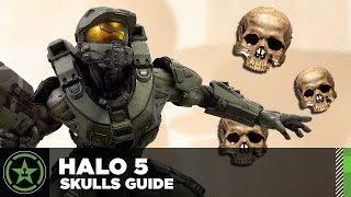 Halo 5 - Skull Location Guide