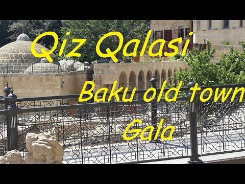 #10 Baku old Town. Qiz Qalasi (Giz Galasi, Девичья Башня)