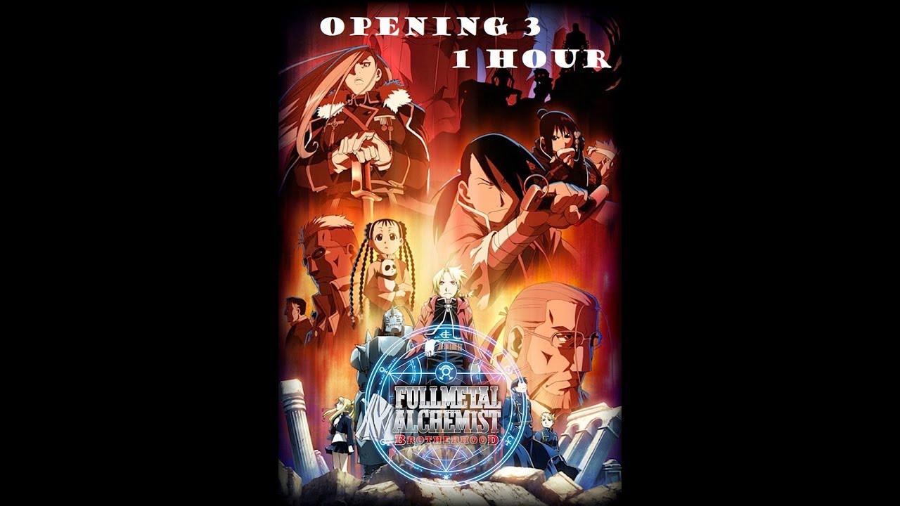 Fullmetal Alchemist opening 3 1 hour - YouTube