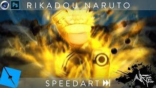 Roblox GFX Speedart - Sage of Six Paths Naruto [C4D+PS]