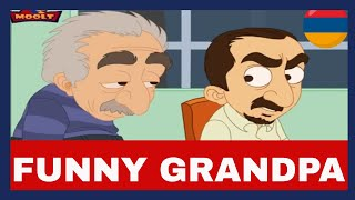 MOOLT CARTOONS  FUNNY GRANDPA (Armenian Comedy)