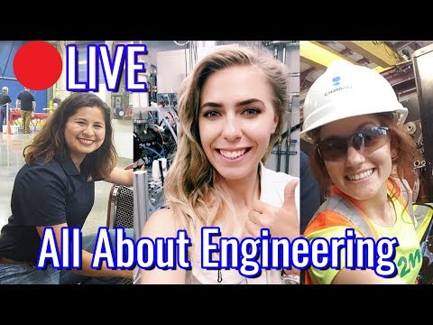 🔴 LIVE All about engineering with The People Engineer and The Watermark Blog | Women in Engineering