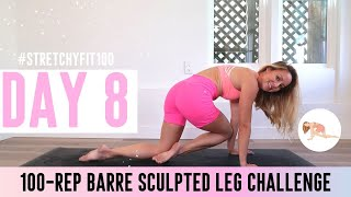 GET SCULPTED LEGS IN 30 DAYS CHALLENGE! Day 8: 100 Cha Cha! 💃🏼#StretchyFit100