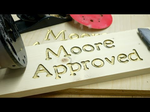 HOW TO MAKE A CUSTOM WOODEN SIGN WITH A ROUTER And A Cricut | Make A DIY Wooden Sign With A Router