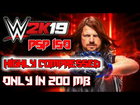 WWE 2K19 PSP ISO HIGHLY COMPRESSED || ONLY 200 MB FOR ANDROID