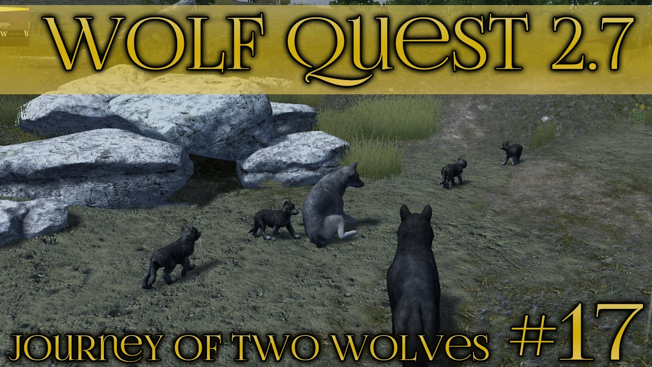 Download Stormy Birth of Wolf Pups!🐺  Wolf Quest 2.7 - Brothers Journey || Episode #17