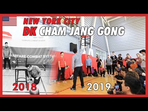 DK Cham Jang Gong in New York City - DK Yoo