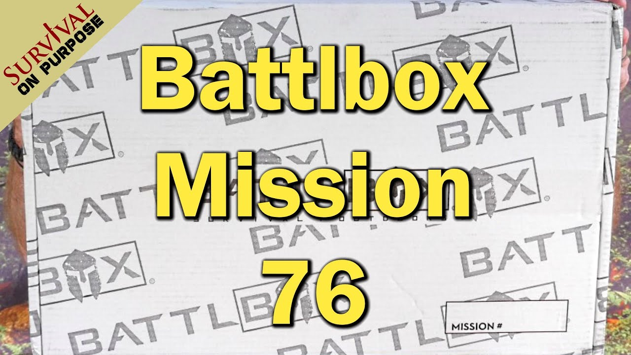 Battlbox Mission 76 Unboxing
