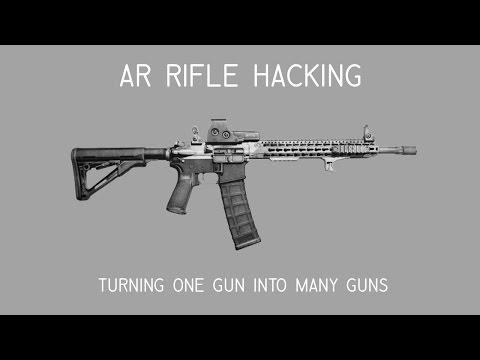 AR Hacking - How to turn One Gun Into Five Guns - Deviant Ollam