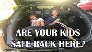 Are Your Kids Safe in the back of a Tesla?