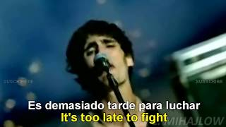The All-american Rejects It Ends Tonight Lyrics English Subtitulado Español