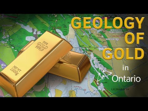 Geology of Gold in Ontario