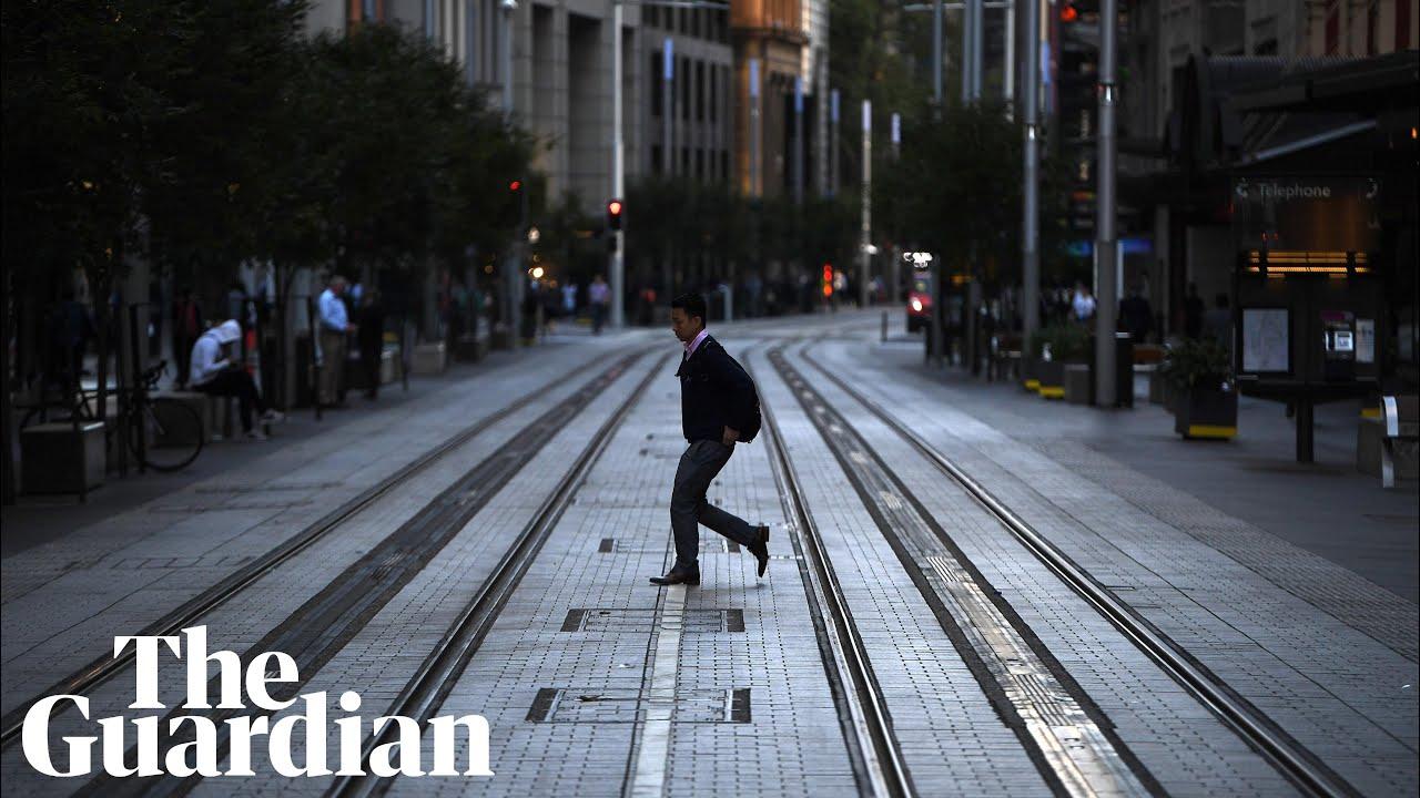 Sydney city centre empties as NSW coronavirus lockdown takes effect