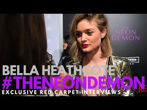 Bella Heathcote interviewed at the LA Premiere of The Neon Demon #TheNeonDemon