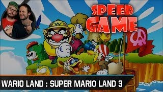 Speed Game - Wario Land : Super Mario Land 3 - Fini en 21 minutes