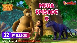 Das Dschungelbuch Zeichentrickserie Mega-Episode 5 | Neueste Cartoon-Serie für Kinder