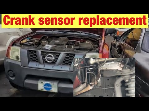 How to Replace the CrankShaft Position Sensor on a 2005-2012 Nissan Xterra with a 4.0 L Engine