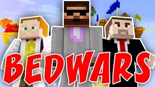 Pedro, GEJMR a House | BEDWARS | Minecraft minihry | Agresoři