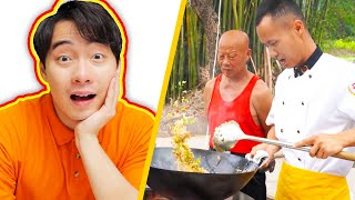 Uncle Roger AMAZED by PERFECT EGG FRIED RICE (Chef Wang Gang)